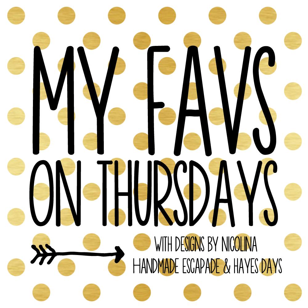 My Favs on Thursdays 1.23 ~  Rack It Up