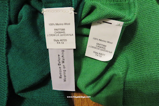 J. Crew retail vs. factory: tippi v. charley ~ www.hayesdays.com