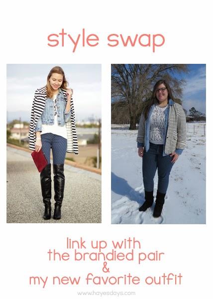 Style Swap Link Up - www.hayesdays.com