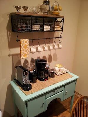 Coffee Bar Ideas ~ from sea legs