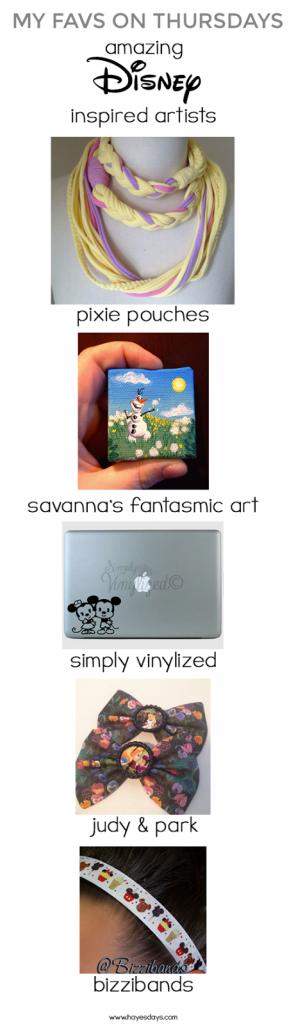 My Favs on Thursdays: amazing Disney inspired artists