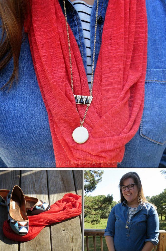 Knit t-shirt dress remixed:: www.hayesdays.com