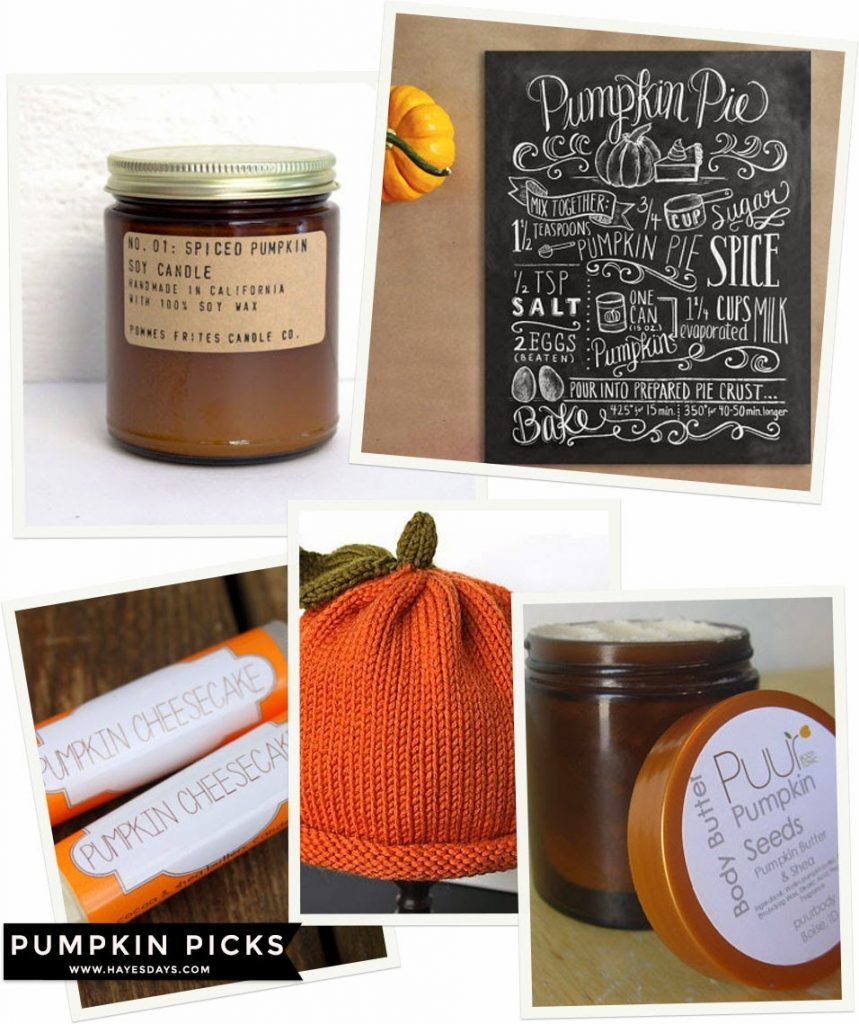 pumpkin items picks & giveaway :: www.hayesdays.com