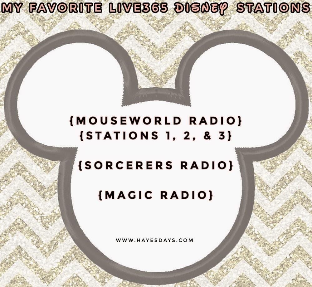 free disney parks music stations :: www.hayesdays.com
