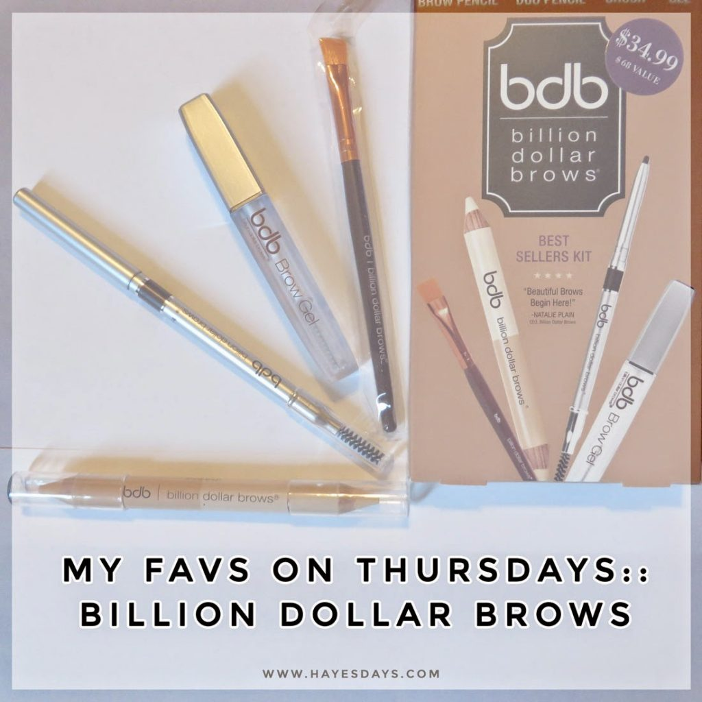 billion dollar brows best sellers kit review :: www.hayesdays.com