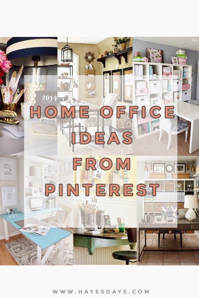 home office decor ideas :: www.hayesdays.com