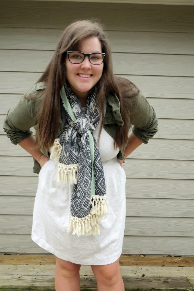 ideas for remixing summer scarf into fall :: www.hayesdays.com