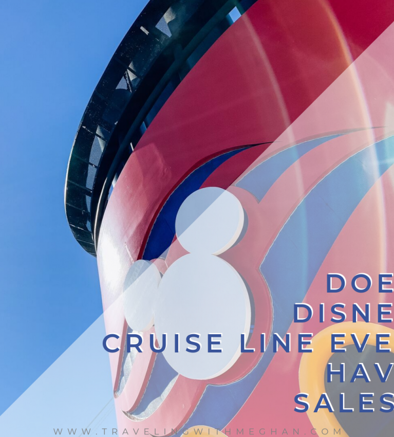 disney cruise line ever have sales